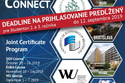 Central Europe Connect – DEADLINE predĺžený
